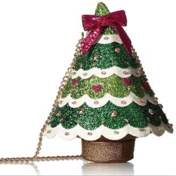 Genial Betsy Johnson Crossbody Christmas Tree Bag